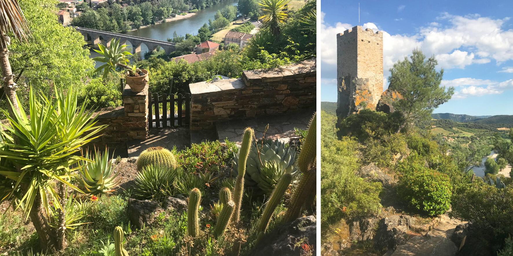 Jardin Méditerranéen Roquebrun
