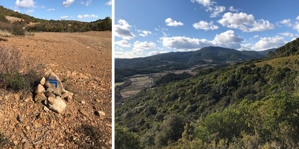 Cœur des Schistes hike Roquebrun