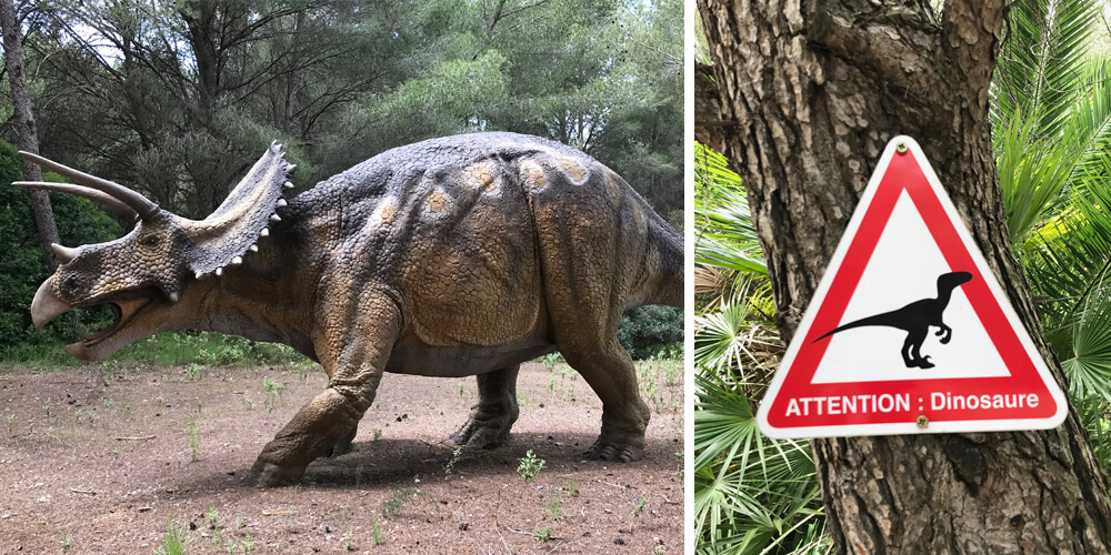 Dinosaurs Musée Mèze