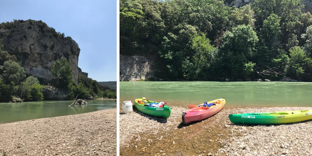 Kayaking Pont du Gard