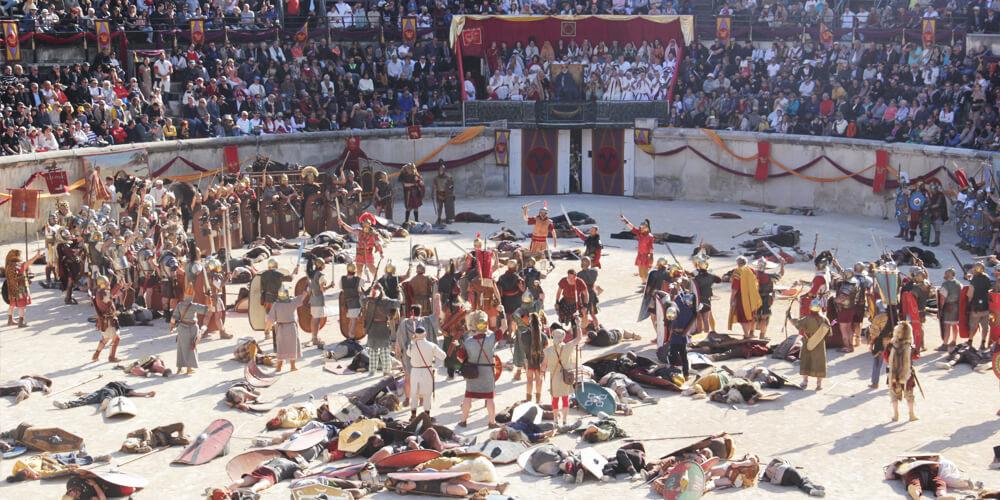 Roman Games Nîmes