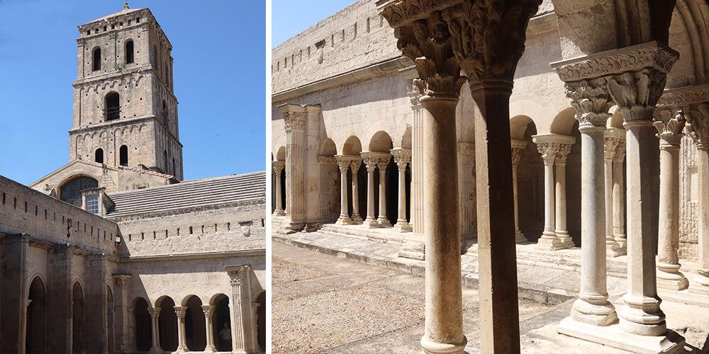 Le cloître Saint-Trophime
