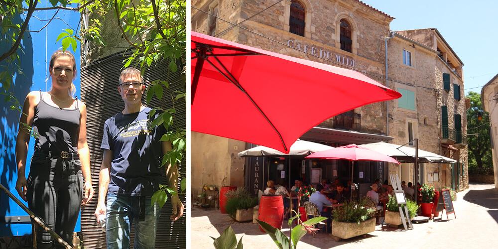 Café du Midi in Bize-Minervois