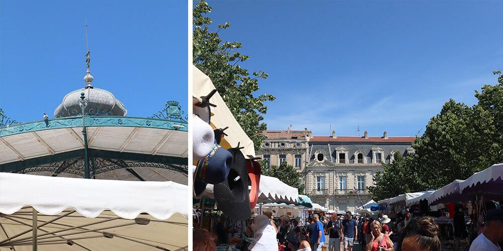 Wednesday market Sète